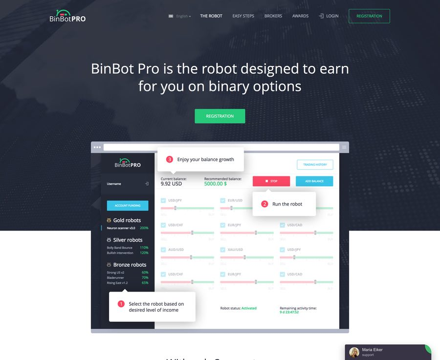 BinBot Pro Review - Auto Trading Robot | BinBotPro.com Reviews